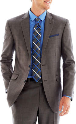 BILLY LONDON Billy London UK Gray Basketweave Suit Jacket