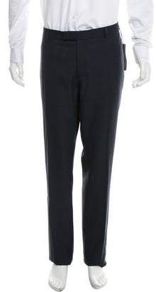 Christian Dior Plaid Wool Pants w/ Tags