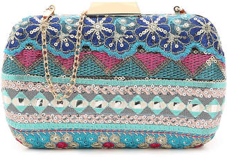 Townsend Lulu Blue Rainbow Clutch - Women's