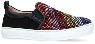 Salvatore Ferragamo Balzino Embellished Sneakers