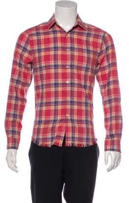 Frame Patterned Casual Shirt