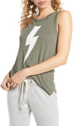 Chaser Bolt Graphic Lounge Tank Top
