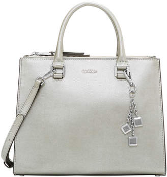 Calvin Klein Logan Double Handle Satchel