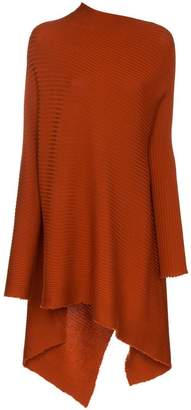 Marques Almeida Marques'almeida ribbed asymmetric wool jumper