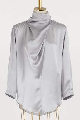 Nina Ricci Silk crepe blouse