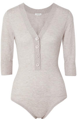 Eres Rituel Cashmere Bodysuit - Gray