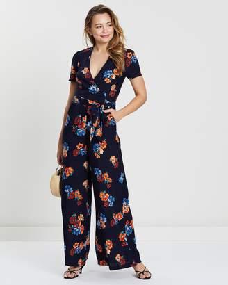 Oasis Scarf Print Jumpsuit