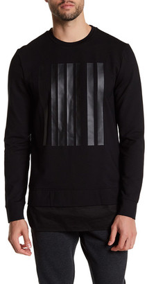 Antony Morato Graphic Crew Neck Sweater $230 thestylecure.com