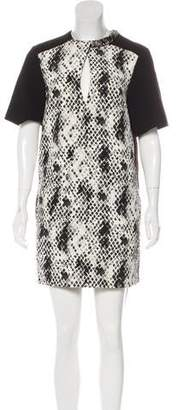 Ungaro Wool-Blend Printed Dress w/ Tags