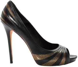 Alexander McQueen Leather heels