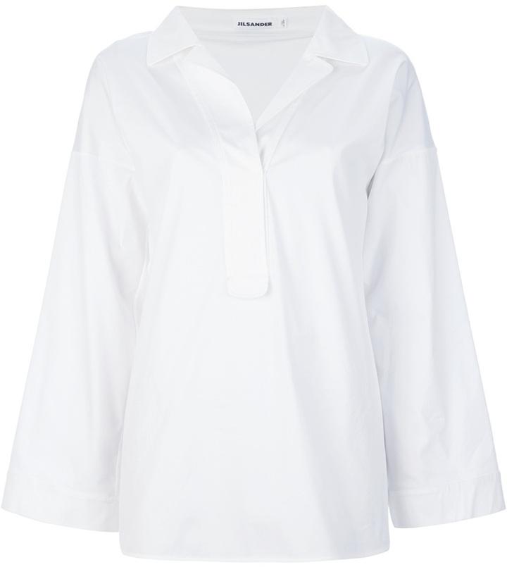 Jil Sander tunic blouse