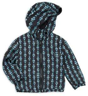 Versace Baby's & Little Boy's Graphic-Print Hooded Jacket