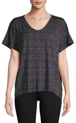 Roudelain Marl Round V-Neck T-Shirt