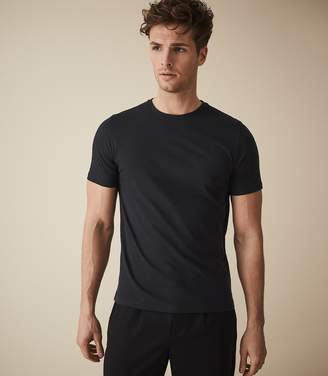 Reiss BLESS CREW-NECK T-SHIRT Navy