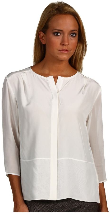 Tibi Solid Blouse