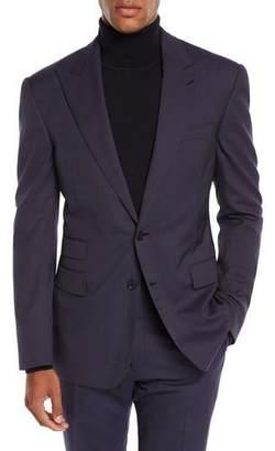 Ralph Lauren Men's Mini Pin-Dot Two-Piece Wool Suit