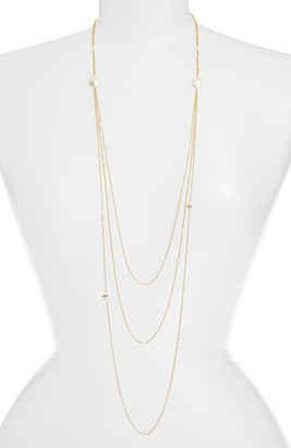 Women's Ettika Tiered Chain Necklace $68 thestylecure.com