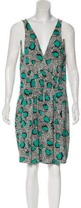 Diane von Furstenberg Oblixe Sleeveless Printed Dress