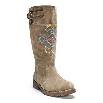 Muk Luks Women's Barbie Snowflake Boot