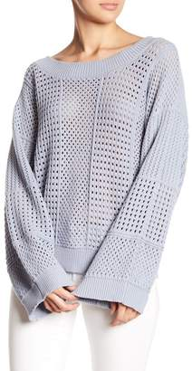 Fate Open Knit Sweater