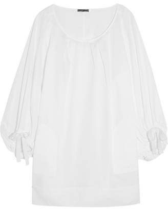Three Graces London - Selina Cotton-voile Nightdress - White