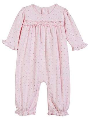 Kissy Kissy Parisian Stroll Printed Heart Coverall, Size 3-24 Months