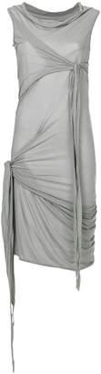 Rick Owens wrap detail dress