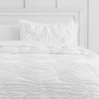Pottery Barn Teen Whimsical Waves Comforter, Full/Queen, Pale Seafoam