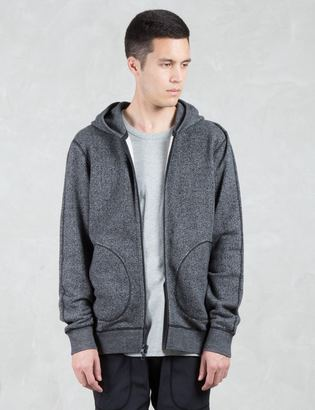 Reigning Champ Tiger Jersey Zip Up Hoodie $180 thestylecure.com