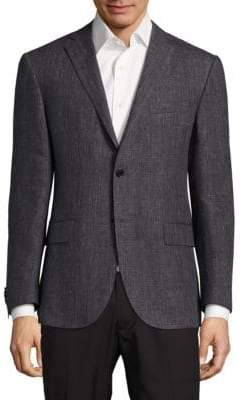 Corneliani Solid Textured Sport Coat