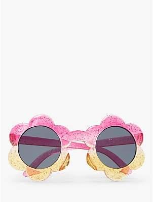 95452875c360b John Lewis   Partners Girls  Flower Glitter Ombre Sunglasses