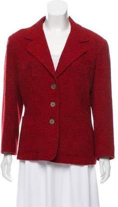 Balmain Structured Wool Blazer