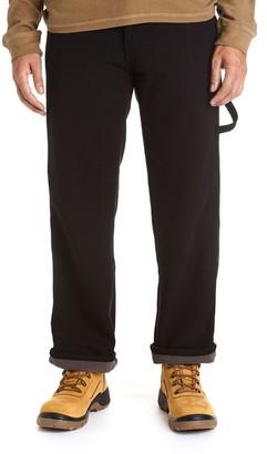 Stanley Men's Classic-Fit Fleece-Lined Carpenter Jeans