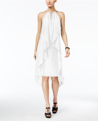 Thalia Sodi Chain-Neck High-Low Halter Dress, Only at Macy's $89.50 thestylecure.com