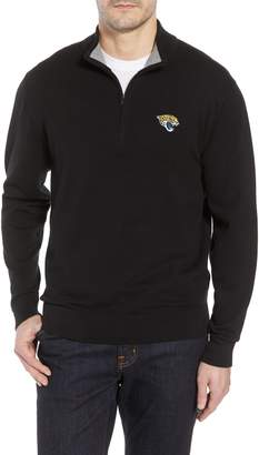 Cutter & Buck Jacksonville Jaguars - Lakemont Regular Fit Quarter Zip Sweater