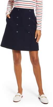 1901 Double Button Skirt