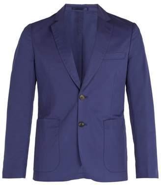 Paul Smith Single Breasted Wool Blazer - Mens - Navy