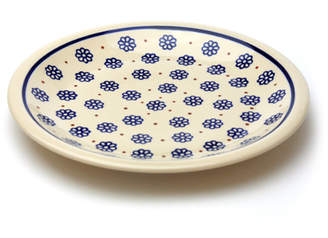 Polish Pottery ポーリッシュポタリー 平皿φ24cm