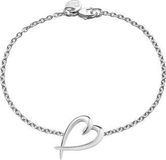 Shaun Leane Signature heart sterling silver bracelet