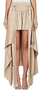 Sies Marjan SIES MARJAN WOMEN'S MEGAN SILK HIGH-LOW SKIRT - SAND SIZE 6