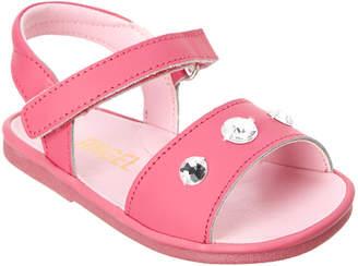 L'amour Angel Shoes Diamond Leather Sandal