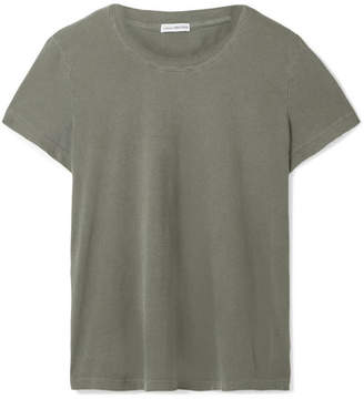 James Perse Vintage Boy Cotton-jersey T-shirt - Army green