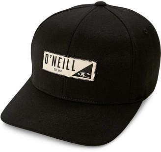 O'Neill Men's Hawthorne Flex Fit Logo Hat