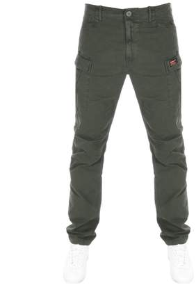 Superdry Core Cargo Trousers Green