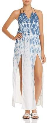 Surf Gypsy Tie-Dye Maxi Dress Swim Cover-Up