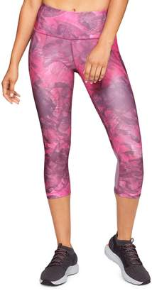 Under Armour Printed Capri Leggings