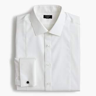 J.Crew Ludlow Slim-fit stretch two-ply piqué-bib tuxedo shirt
