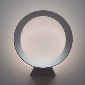 Dimmbare LED-Wandlampe LED+O in Weiß