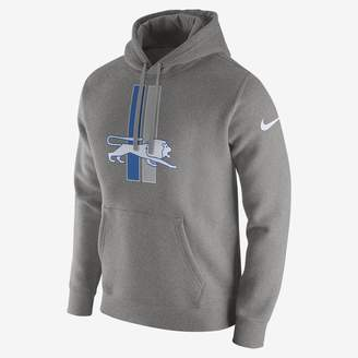 Nike Club (NFL Lions) Men's Fleece Pullover Hoodie
