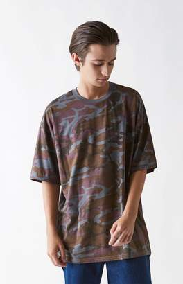 PacSun Brood Camouflage Oversized T-Shirt